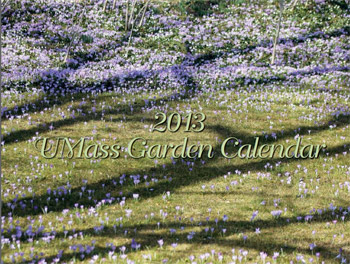 The cover of the 2013 UMass Garden Calendar