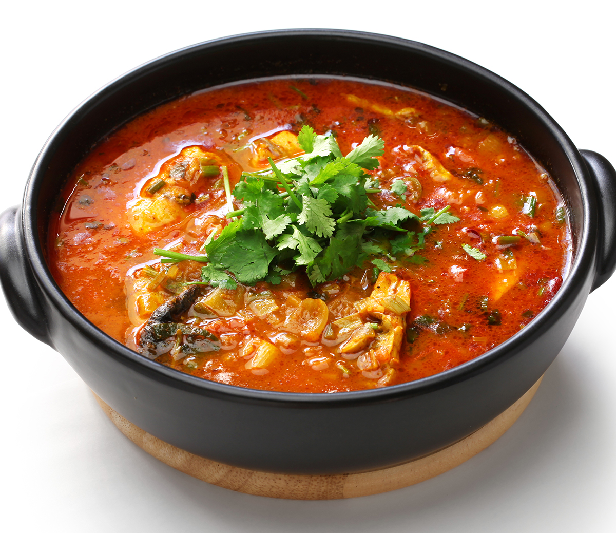 Fish and Kale Soup