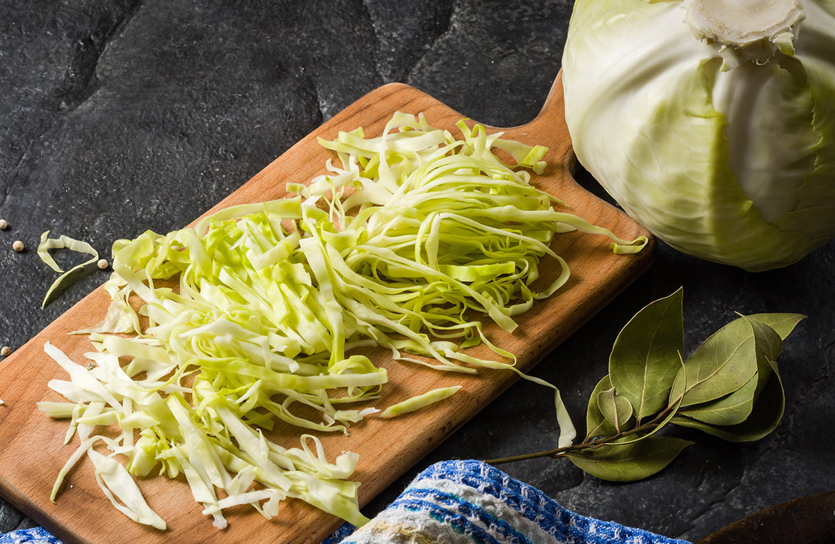 Cabbage, Onion and Bell Pepper Stir-Fry